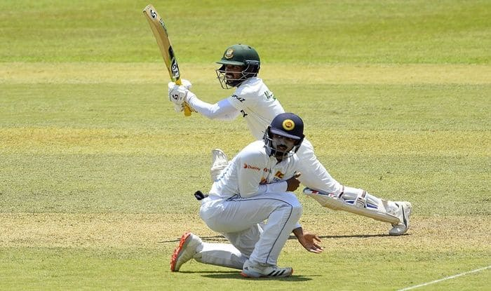 SL vs BAN Pallekele Test day 2 match report Bangladesh looking solid as they reached 474 after losing 4 wickets