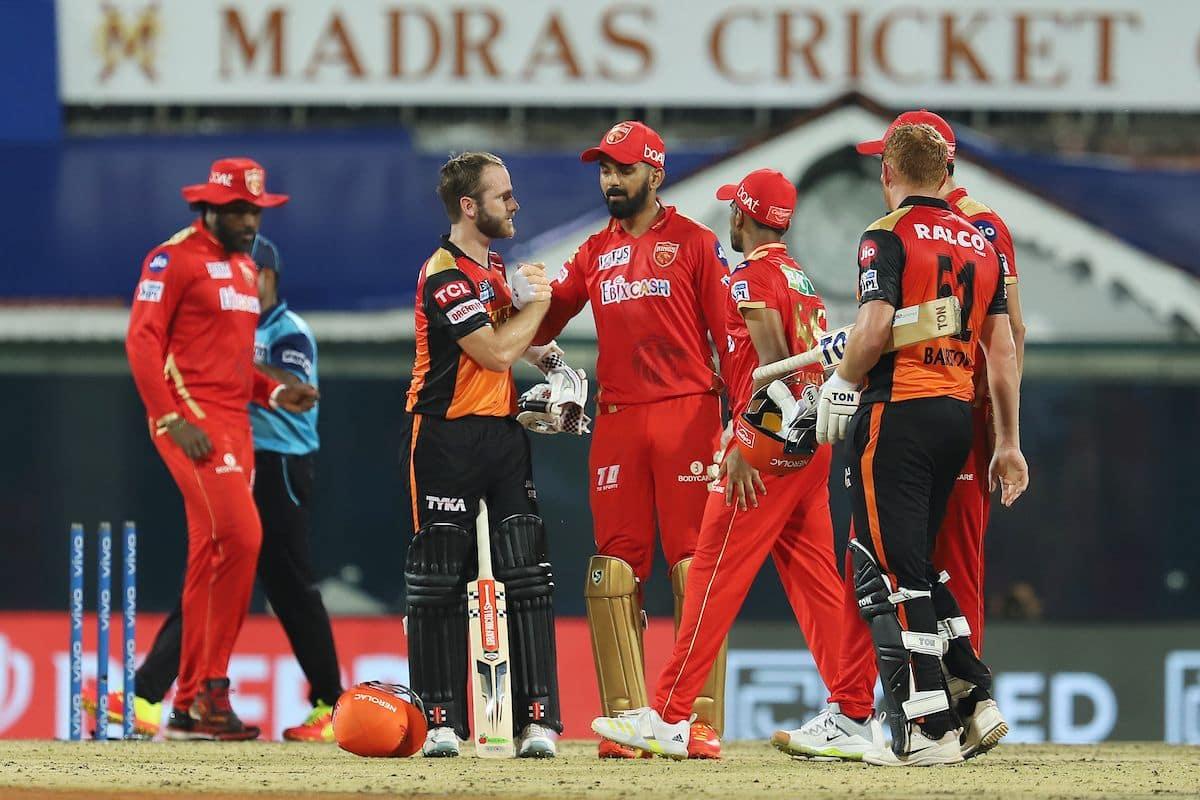 Kane Williamson wishes KL Rahul hard luck after Sunrisers Hyderabad beat Punjab Kings in match 14 of IPL 2021  BCCI