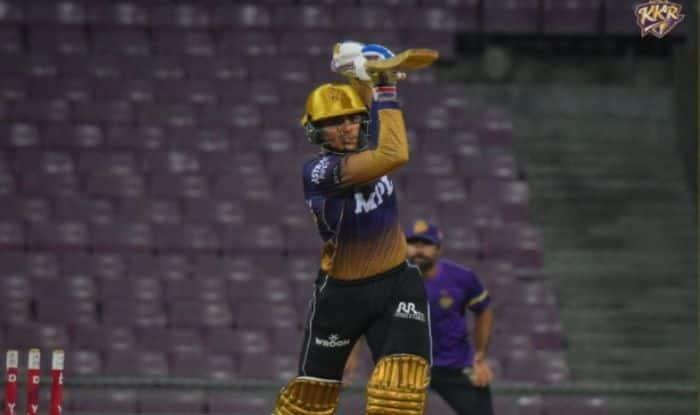 kkr batsman shubman gill smashed 75 runs in just 35 balls in practice game