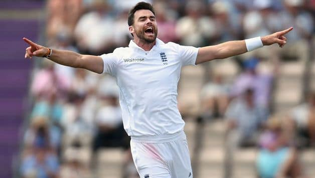 James Anderson says equaling Alastair Cook record will be 'mind-blowing'