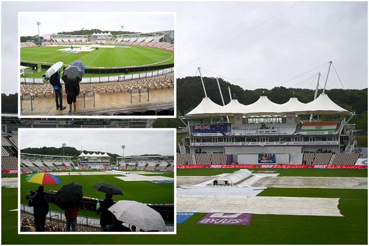 ICC World Test Championship Final 2021, India vs New Zealand, Day 4: Play abandoned due to rain on Day 4