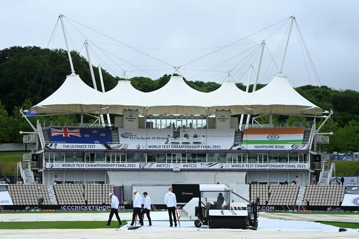 India vs New Zealand WTC Final 2021, Day 1: Due to persistent rain, play has been abandoned on day one