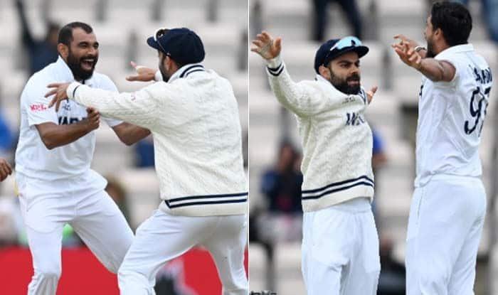 India vs New Zealand, WTC 2021, Day-5: Mohammad Shami, Ishant Sharma bowled out Kiwi's at 249, got 32 run lead