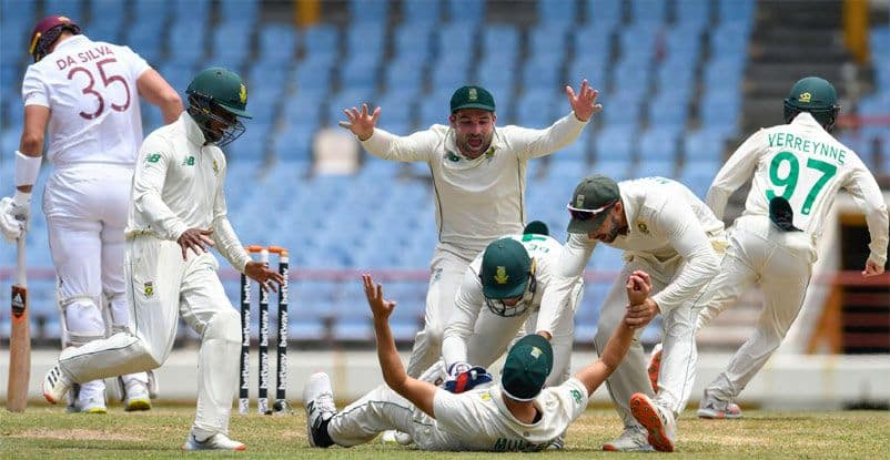 wi vs sa west indies fined for slow over rate in 2nd test against south africa
