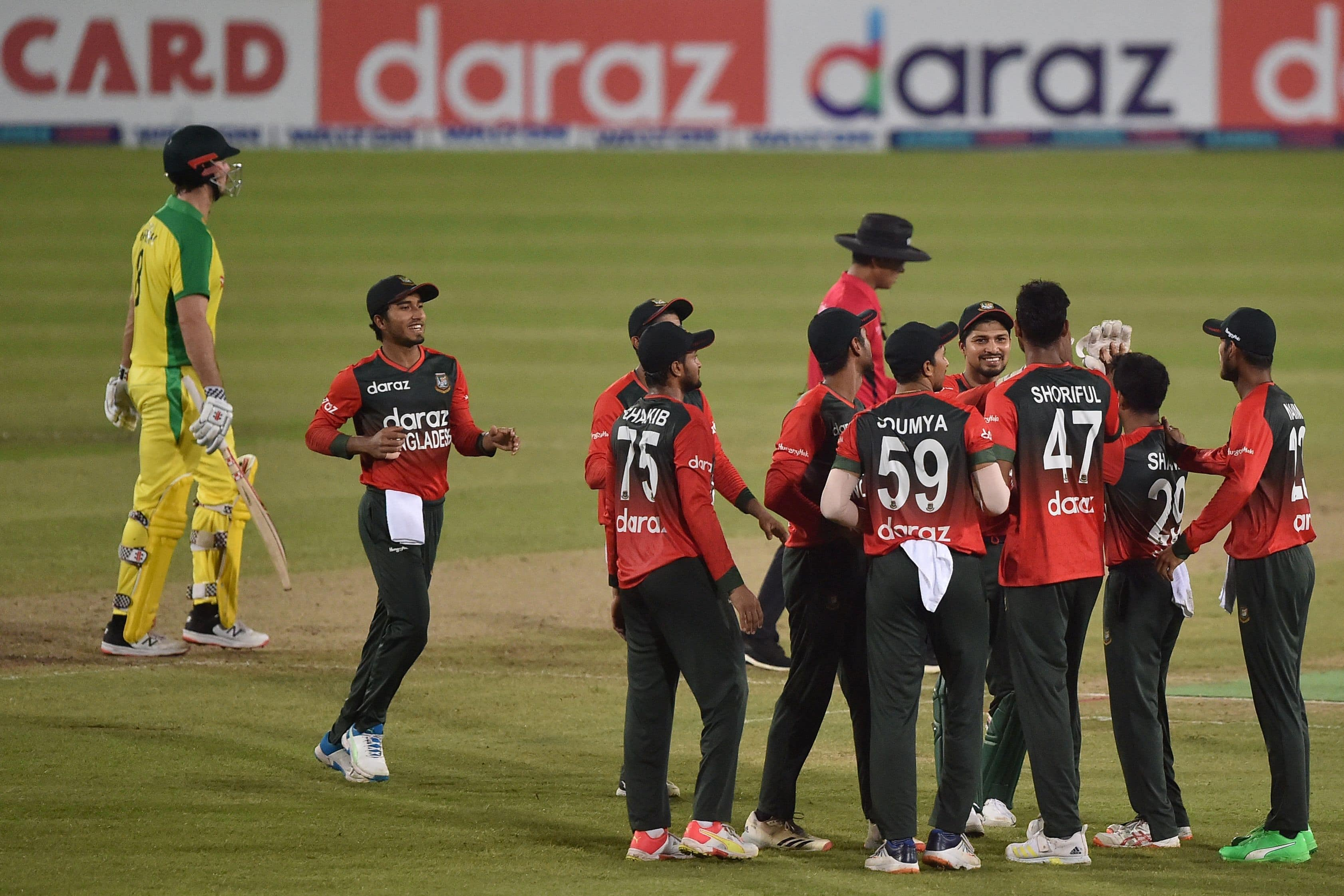 Bangladesh have registered their first ever series win against Australia in international cricket.