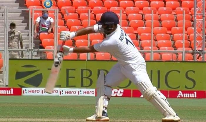 cricket news india vs england i had to change my stance after being told by umpire says rishabh pant