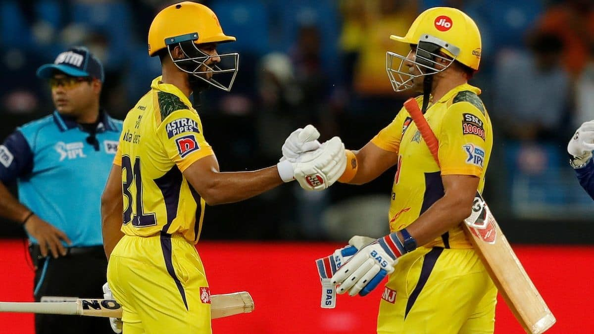 IPL 2021 Report: Gaikwad-Uthappa Fifties, Dhoni's Cameo Propel Chennai Into 9th Final, Beat Delhi by 4 Wickets