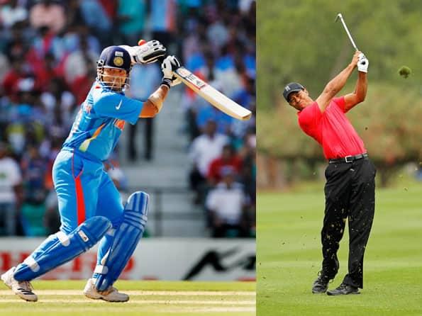 Tiger Woods wins title after 923 days; Sachin Tendulkar scores century after 370 days