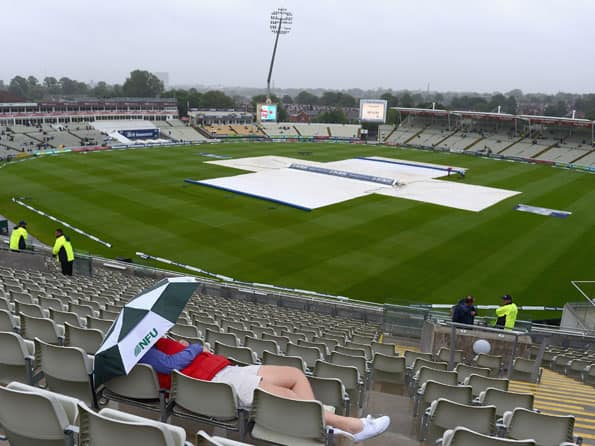 First day's play between England and West Indies washed out