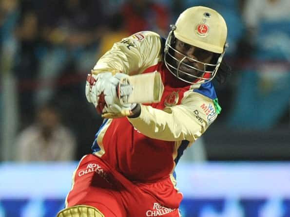 Gayle, Dilshan propel RCB to 173 against Pune