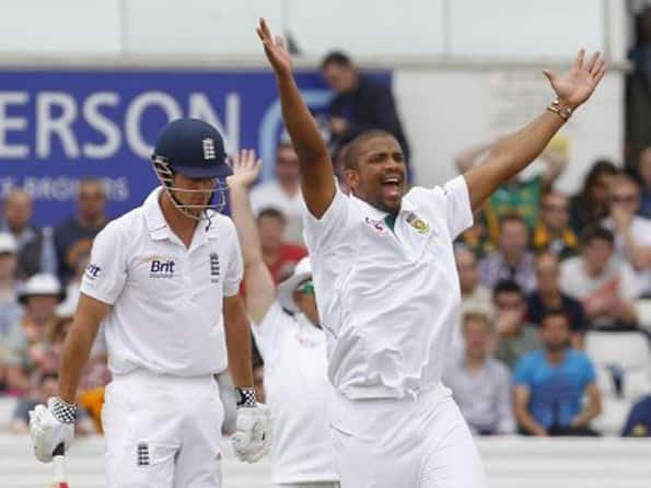 England lose early wickets on day four in stiff run-chase against South Africa