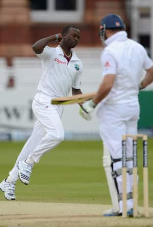 Kemar Roach keeps hopes of West Indies win alive at Lord's