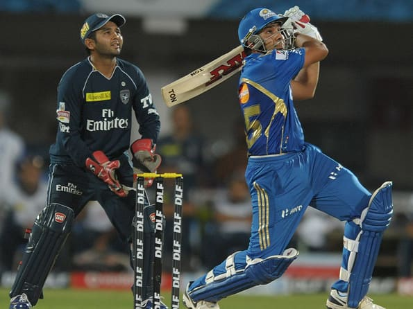 Rohit Sharma steers Mumbai Indians past Deccan Chargers in a thriller