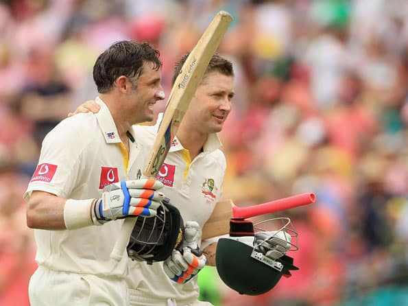 Centurion Hussey unfazed by media attention to Clarke