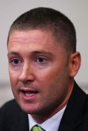 I want to focus on Test cricket: Michael Clarke