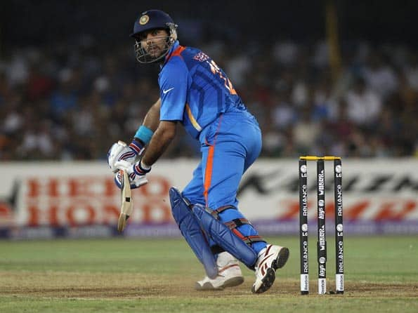 ICC World T20 2012: Yuvraj Singh undergoes intense training session