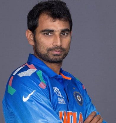 Mohammed Shami earned a  million dollar salary, leaving the net worth at 0.7 million in 2017