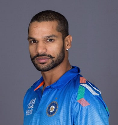 Shikhar Dhawan earned a  million dollar salary, leaving the net worth at 1 million in 2017