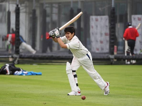 Arjun Tendulkar smashes hundred in U-14 tournament