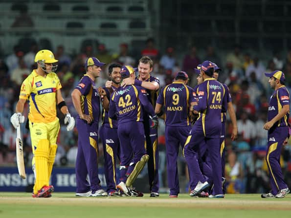 Kolkata Knight Riders limit Chennai Super Kings to 139 in IPL 2012 tie