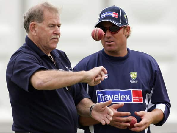 Warne's mentor Terry Jenner passes away