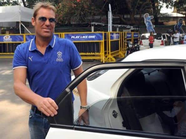 Cyclist accuses Shane Warne of damaging his bike