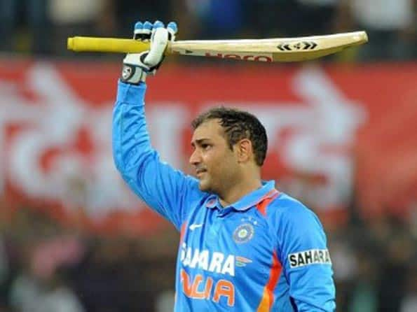 Virender Sehwag to get special bat from SG for hitting ODI double ton