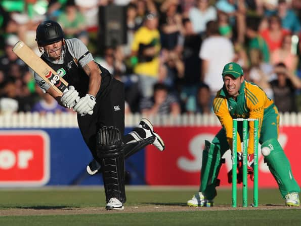 New Zealand set 174-run target against South Africa in second T20