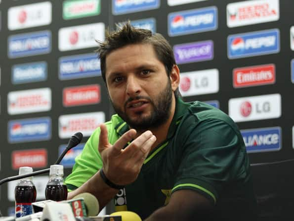 Afridi admits he is unhappy with people interfering with his work