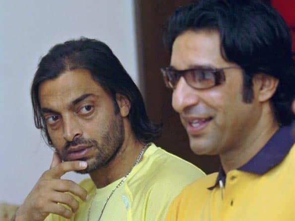 Shoaib Akthar accuses Wasim Akram of destroying his career