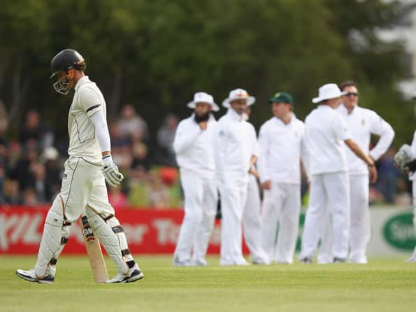 Live Cricket Score New Zealand vs South Africa first Test at Dunedin: Day five