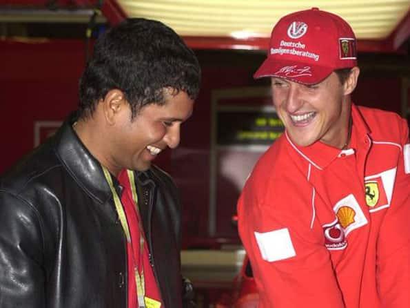 Michael Schumacher looking forward to meet Sachin Tendulkar