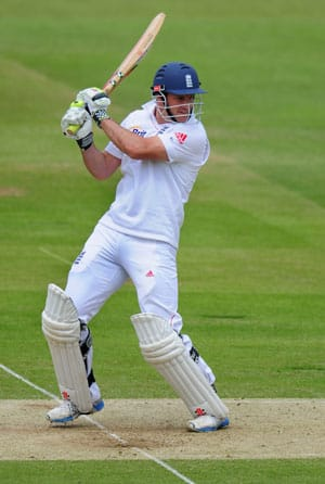 Andrew Strauss ends century drought as England dominate West Indies on Day two
