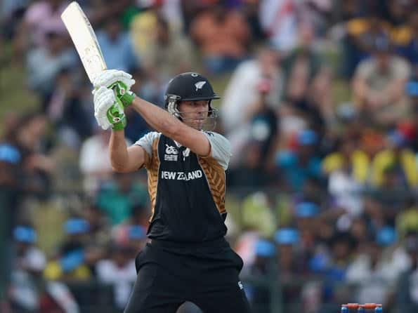 ICC World T20 2012: James Franklin, Nathan McCullum push New Zealand to 148