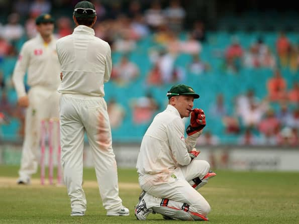 Brad Haddin feels he has been dropped and not rested from the squad