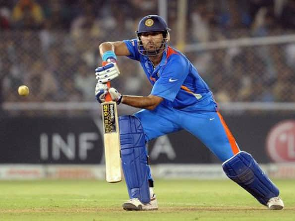 Yuvraj Singh warms up with T20 match