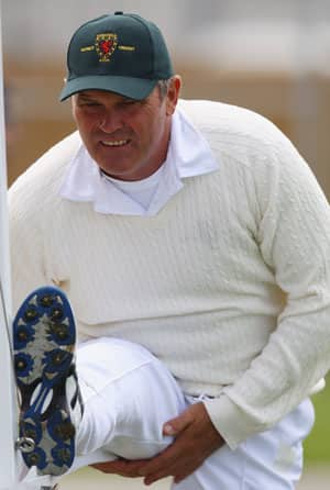 Martin Crowe's comeback ends after just three balls