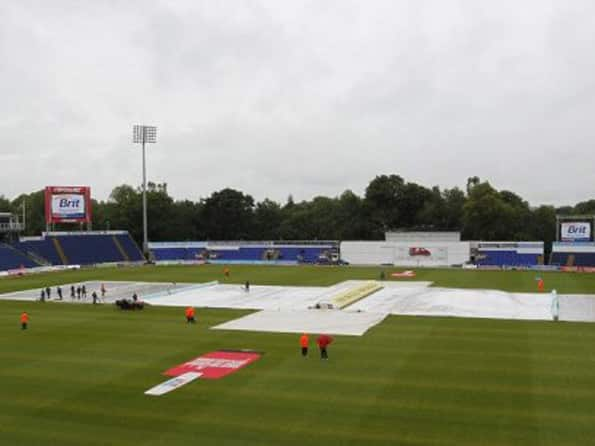 No play before lunch on last day at Cardiff