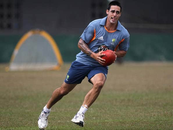 Dennis Lillee to monitor Mitchell Johnson's training