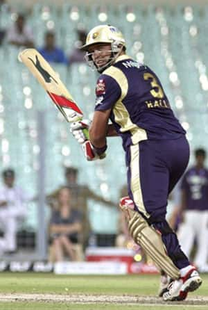 KKR win the toss, elect to bat against Auckland Aces