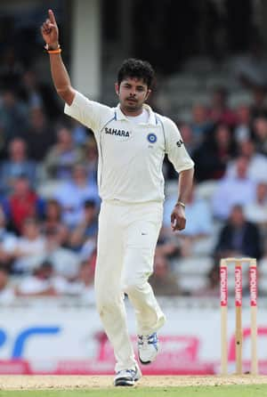 Sreesanth surprised at his omission from Test squad