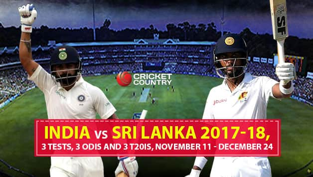 India vs Sri Lanka 2017-18