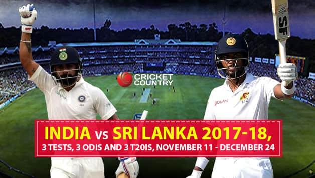 India vs Sri Lanka 2017-18