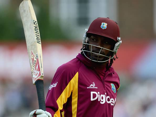 ICC T20 World Cup 2012: Chris Gayle's fifty helps West Indies roll over Afghanistan in practice game