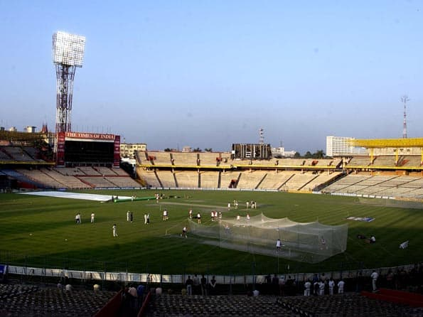 Eden Gardens pitch under scanner for India-West Indies second Test