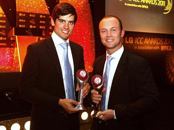 Trott, Cook on top of the world after winning ICC Award