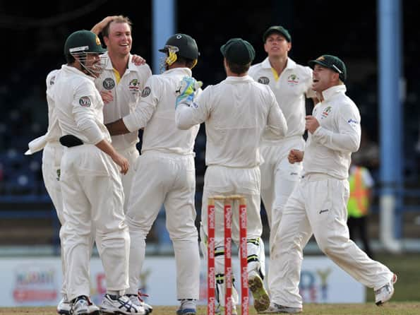 Australia on top after West Indies stumble in first innings