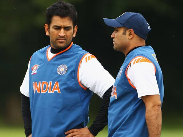 BCCI wants Dhoni, Sehwag to end rift in Indian team