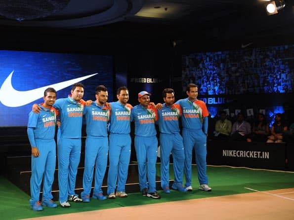 Team India's new T20 kit unveiled