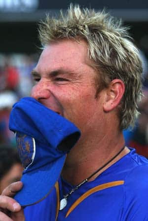 Warne doubtful for Pune clash